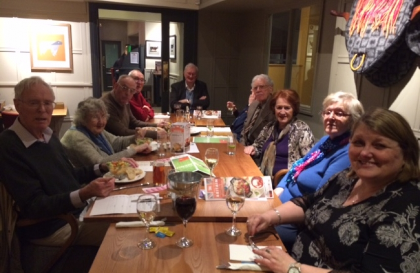 Fundraising lunch March 2017