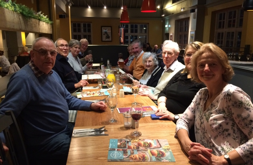 Fundraising Evening at the Tattenham Corner Beefeater