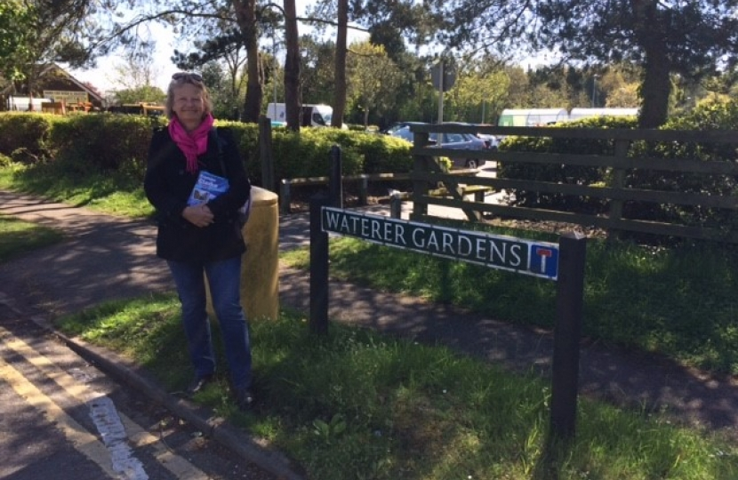 Campaigning in Tattenhams